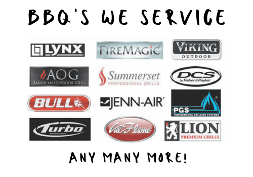BBQ brands we service and repair